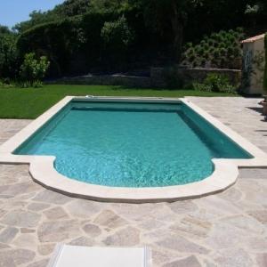Mosaique piscine verte JADE