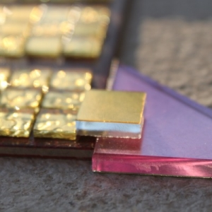 Goldmosaik 4-8 mm dick