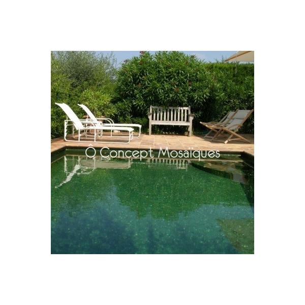 mosaique piscine vert olive couleur exclusive. Black Bedroom Furniture Sets. Home Design Ideas