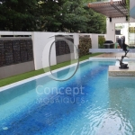 Pool landscape in tailor-made glass mosaic