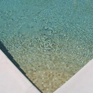 Mosaique piscine beige SABLE