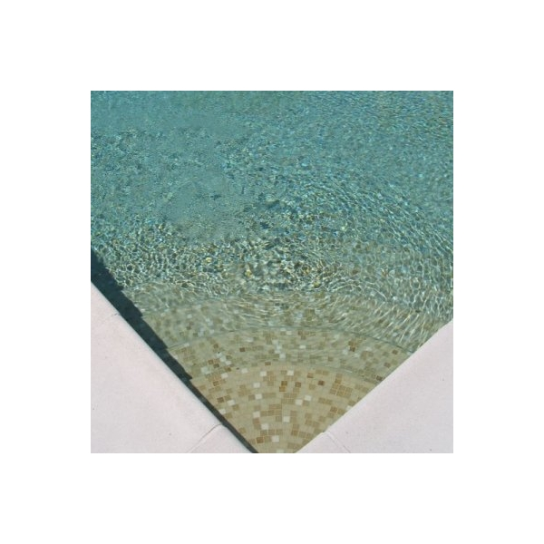 Mosaique piscine beige for Joint carrelage piscine