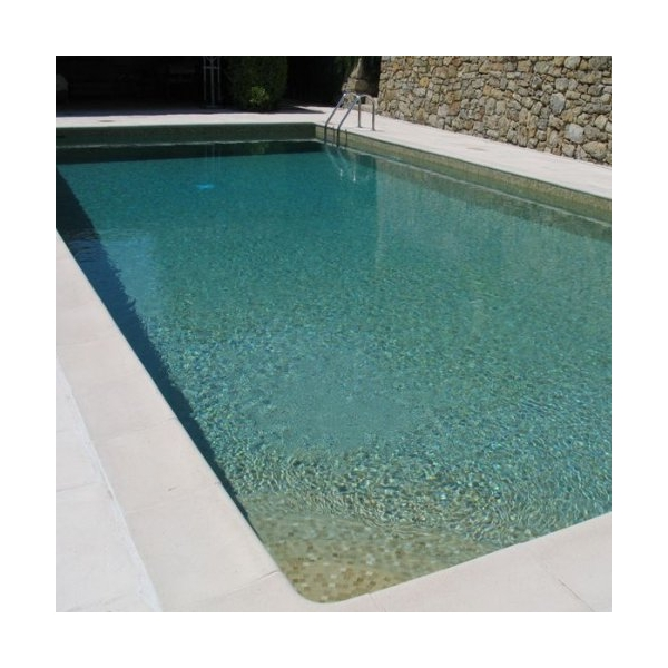Mosaique piscine beige for Piscine avec liner beige