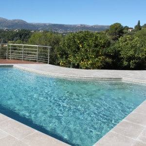Mosaique piscine GRANITE