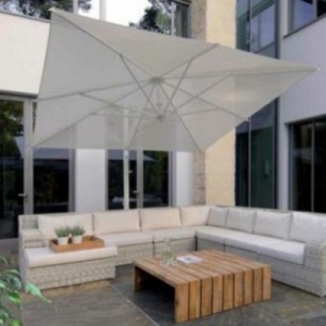 Parasol inclinable
