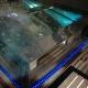 Spa luxueux en inox et verre