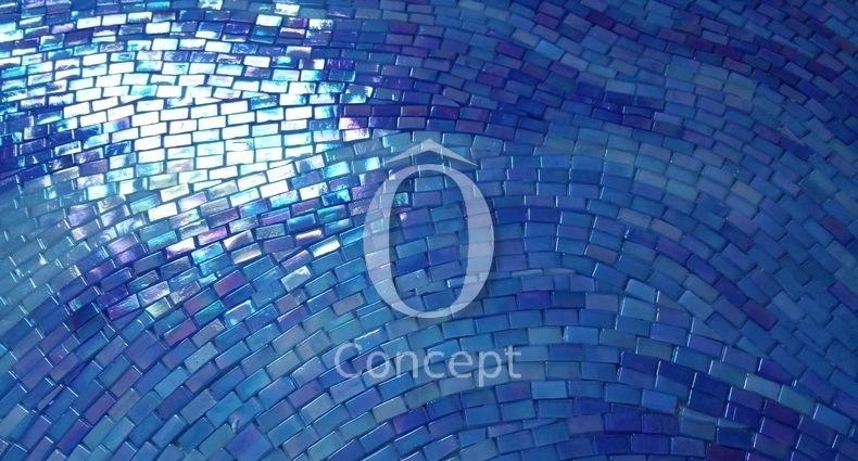 Silhouette Decor Mosaique De Verre O Concept