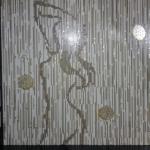 Silhouette Décor Mosaïque de verre